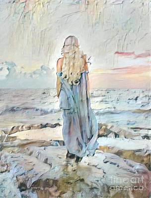 Digital Art - Desolate Or Contemplative by Chris Armytage