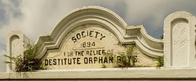 Photograph - Destitute Orphans by Jean Noren