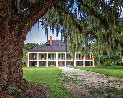 Photograph - Destrehan Plantation by Susan Rissi Tregoning