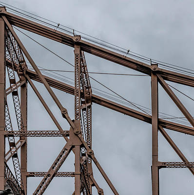 Photograph - Detail Of 59th Street Bridge Nyc by Robert Ullmann