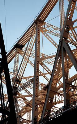 Photograph - Detail Of 59th Street Bridge by Robert Ullmann