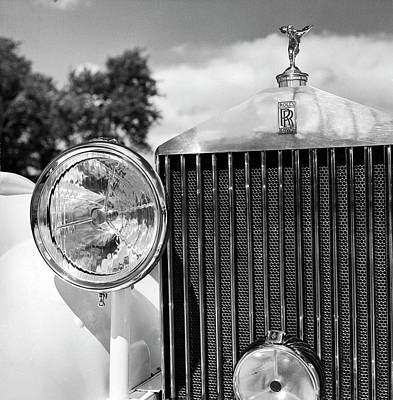 Photograph - Detail Of A 1930 Rolls Royce Mulliner by Walker Evans