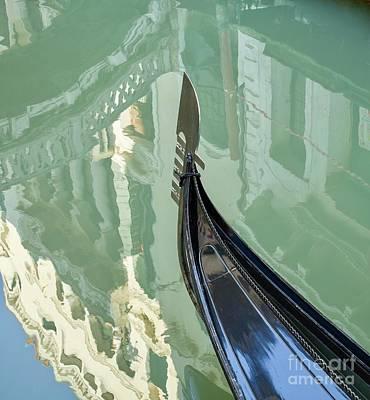 Studio Grafika Typography - Detail of a gondola in Venice by Patricia Hofmeester