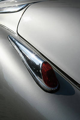 Photograph - Detail Of A Tail Light On An by Marc Volk