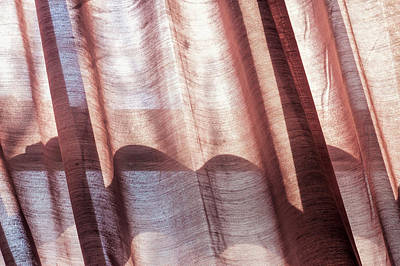 Photograph - Detail Of Curtain by Robert Ullmann