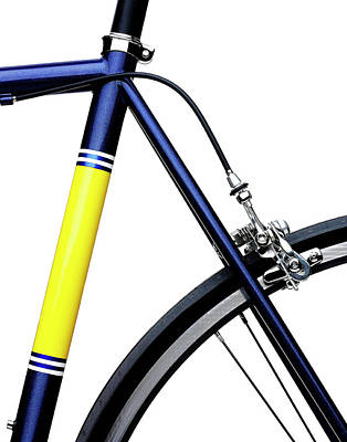 Photograph - Detail Of Racing Bicycle by Mark Weiss