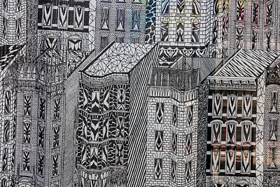 Photograph - Detail - Tapestry - World Trade Center Area by Robert Ullmann