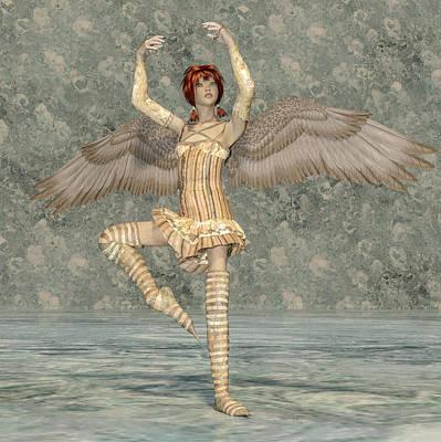 Surrealism Digital Art - Determination by Betsy Knapp