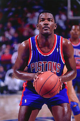 Photograph - Detroit Pistons Vs. Sacramento Kings by Rocky Widner