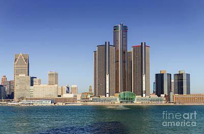 Just Desserts - Detroit Skyline and Riverfront by Kenneth Lempert