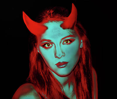Photograph - Devil Women by Miroslava Jurcik