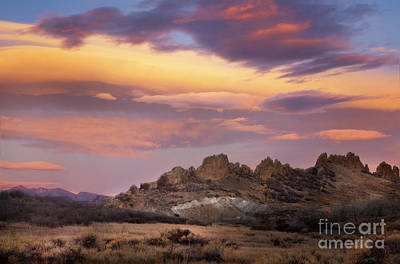 Photograph - Devil's Backbone Sunrise by Ronda Kimbrow