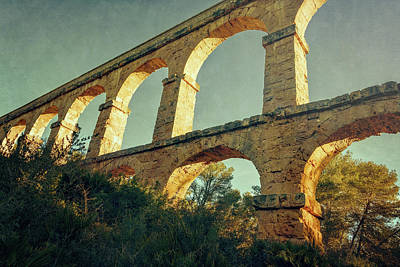 Wall Art - Photograph - Devil's Bridge Tarragona Spain Iv by Joan Carroll