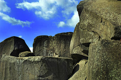Photograph - Devil's Den Rock Forms by Paul W Faust - Impressions of Light