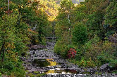 Photograph - Devils Den State Park Autumn Landscape - Northwest Arkansas by Gregory Ballos