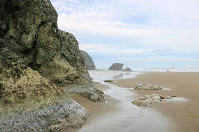 Photograph - Devil's Kitchen View, Bandon Beach, Oregon by Dawn Richards