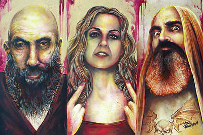 Painting - Devils Rejects by Michael Vanderhoof