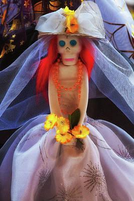 Photograph - Dia De Los Muertos Spooky Candy Catrina by Tatiana Travelways