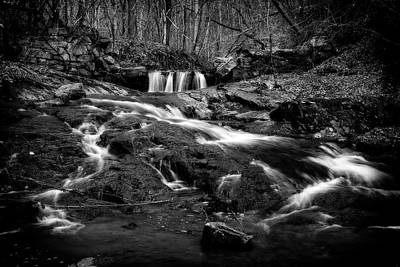Photograph - Diagonal Falls by Alan Raasch