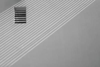 Photograph - Diagonal Versus Horizontal Lines by Prakash Ghai