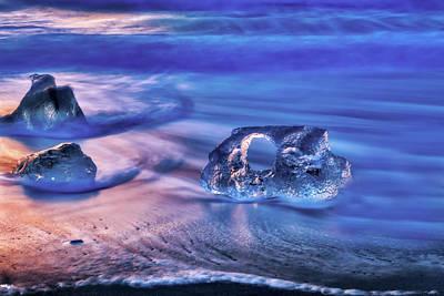Kitchen Mark Rogan - Diamond Beach Iceland 2 by Donna Caplinger