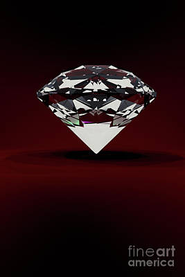 Digital Art - Diamond by Clayton Bastiani