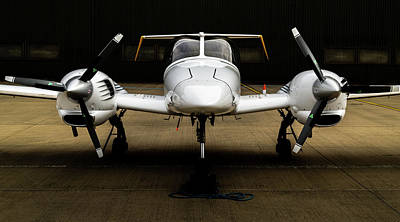 Photograph - Diamond Da42 Plane by Scott Lyons