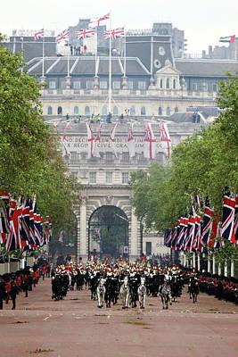 Photograph - Diamond Jubilee - Carriage Procession by Dan Kitwood