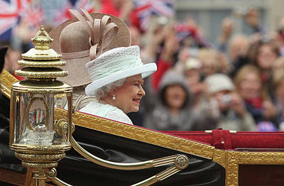 Photograph - Diamond Jubilee - Carriage Procession by Sean Gallup