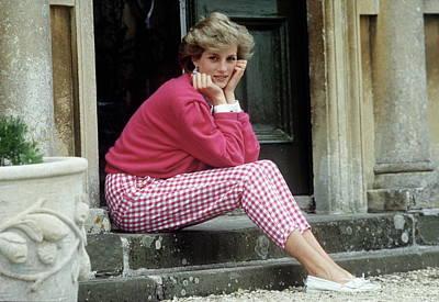Photograph - Diana At Highgrove by Tim Graham