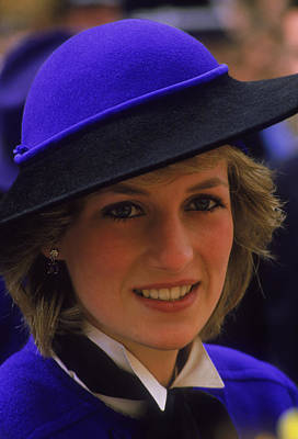Photograph - Diana In Hereford by Princess Diana Archive