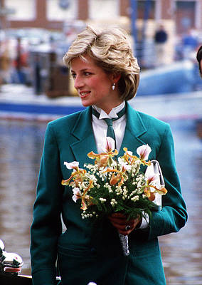 Photograph - Diana Leaves Livorno by Princess Diana Archive