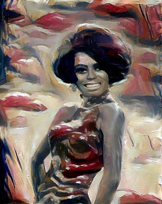 Digital Art - Diana by Richard Laeton