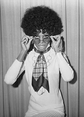 Singer Photograph - Diana Ross by Larry Ellis