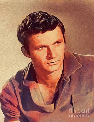 Music Paintings - Dick Dale, Music Legend by Esoterica Art Agency