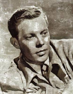 Music Paintings - Dick Haymes, Music Legend by Esoterica Art Agency