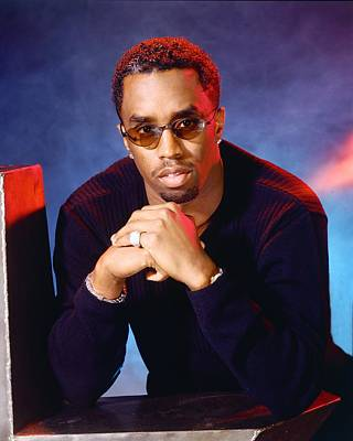 Photograph - Diddy Portrait Session by Harry Langdon