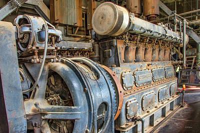 Photograph - Diesel Power by Leland D Howard