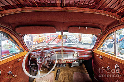 Photograph - Dig The Inside Of This Woodie by David Levin