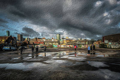 Photograph - Digbeth City Reflection by Chris Fletcher