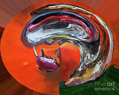 Digital Art - Digital Aspro  by James Lavott