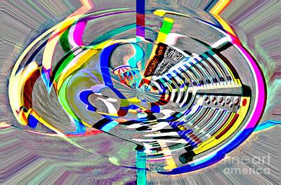 Painting - Digital II The Organist by James Lavott