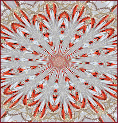 Digitalized Cardinal Art Print