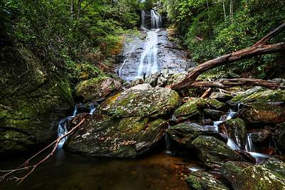 Photograph - Dill Falls North Carolina by Carol Montoya