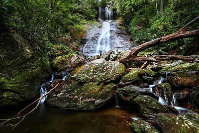 Photograph - Dill Falls North Carolina by Carol Montoya