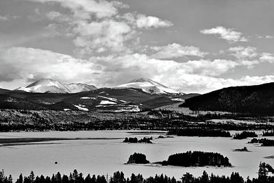 Photograph - Dillon Reservoir by Will Campbell