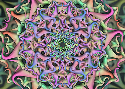 Digital Art - Dimension Object Remix  One by Vitaly Mishurovsky