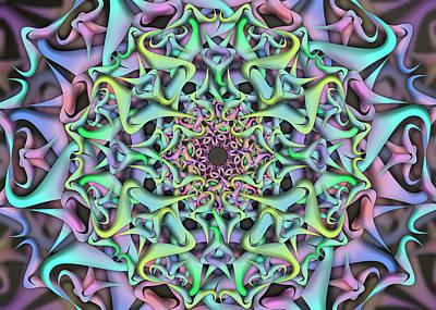 Digital Art - Dimension Object Remix by Vitaly Mishurovsky