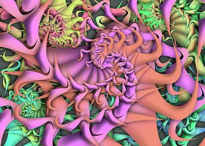 Digital Art - Dimension Remix One by Vitaly Mishurovsky
