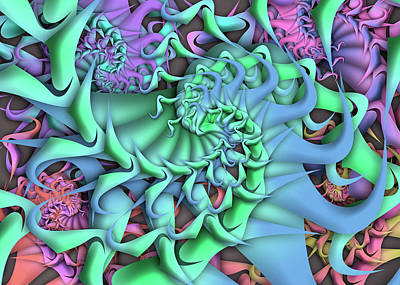 Digital Art - Dimension Remix Two by Vitaly Mishurovsky